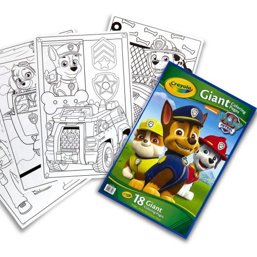 Crayola Giant Colouring Pages Paw Patrol Toy Buzz Buzzrhtoybuzzau: Crayola Giant Coloring Pages Paw Patrol At Baymontmadison.com
