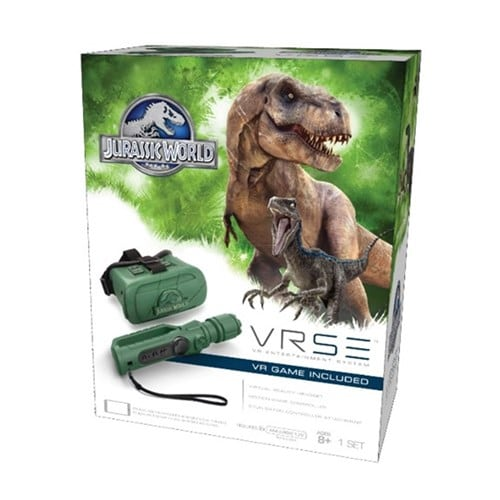 Details about NEW VRSE Jurassic World Virtual Reality Game Headset Extreme  Graphics