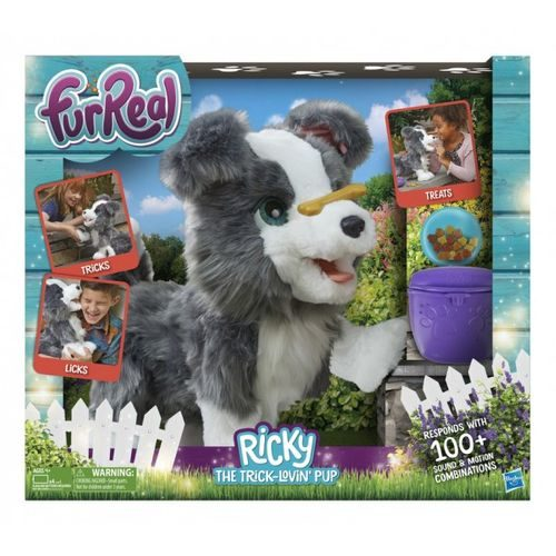 Furreal Ricky The Trick-Lovin' Interactive Plush Pet Toy Kids Dog Play Battery